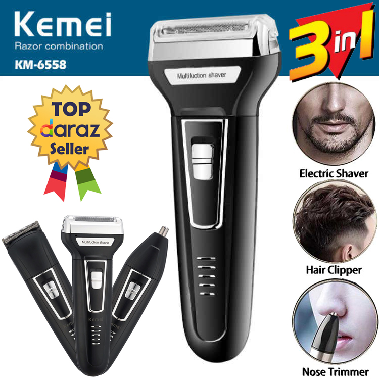 Km-6558 Shaver beard Styling Hair Removal machine