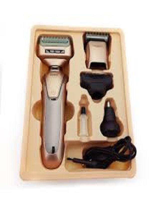 Kemei 4 In 1 Multi functional Hair Clipper Shaver Razor Men Nose Ear Hair Trimmer Grooming