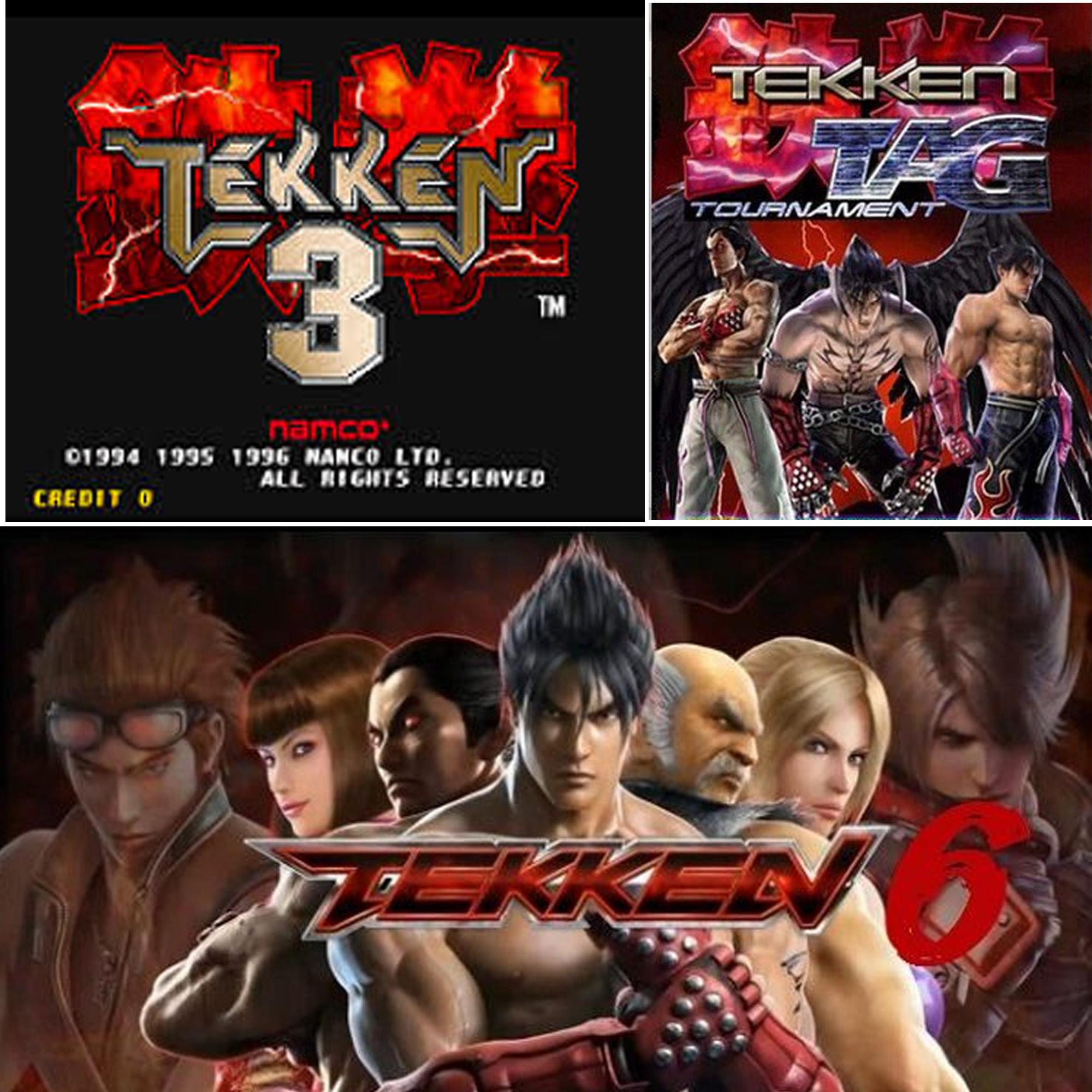 Games tekken tag Tekken Tag
