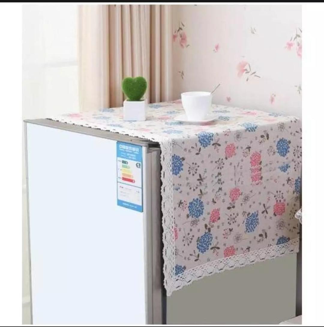 Waterproof Refrigerator Dust Cover Household Freezer Top Bag Fridge Cover Clean