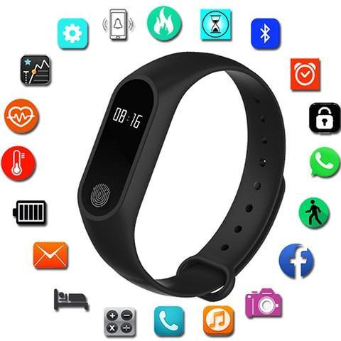 M2 Smart-watch Sport Bracelet Smart Watch Women Men For Android IOS Smartwatch Fitness Tracker