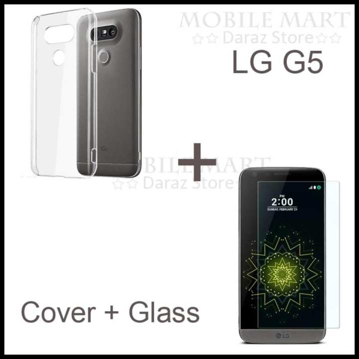 Product details of G5 Tempered Glass Protector + Transparent Cover For LG G5 Easy to apply, High quality glass Designed To Give You Maximum Protection Maintain your phone's original shine Protection against dust and scratches