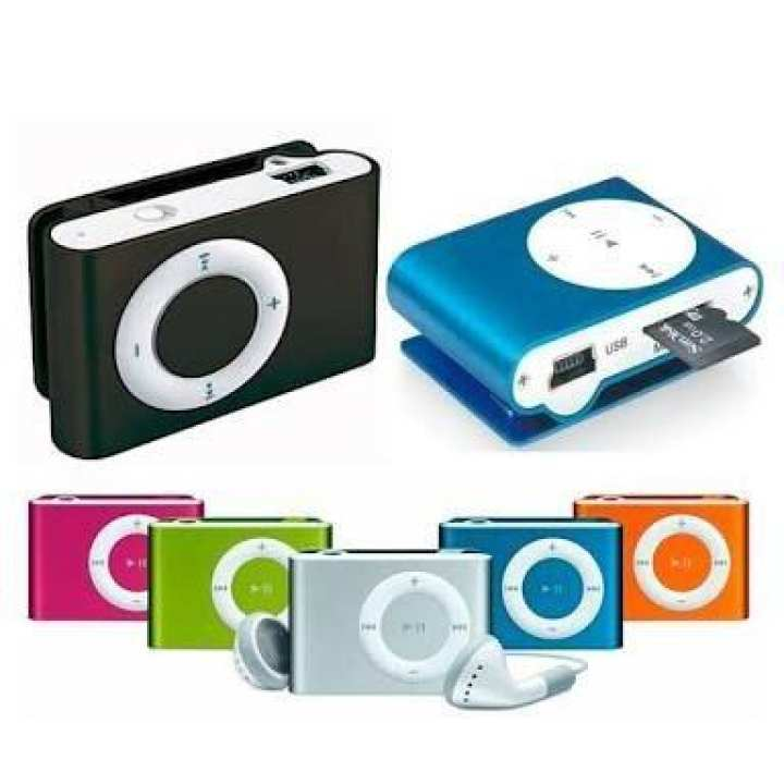 metallica mp3 PLAYER , Shuffle MP3 Player , Mini Mp3 Player , Multicolor with free universal handsfree