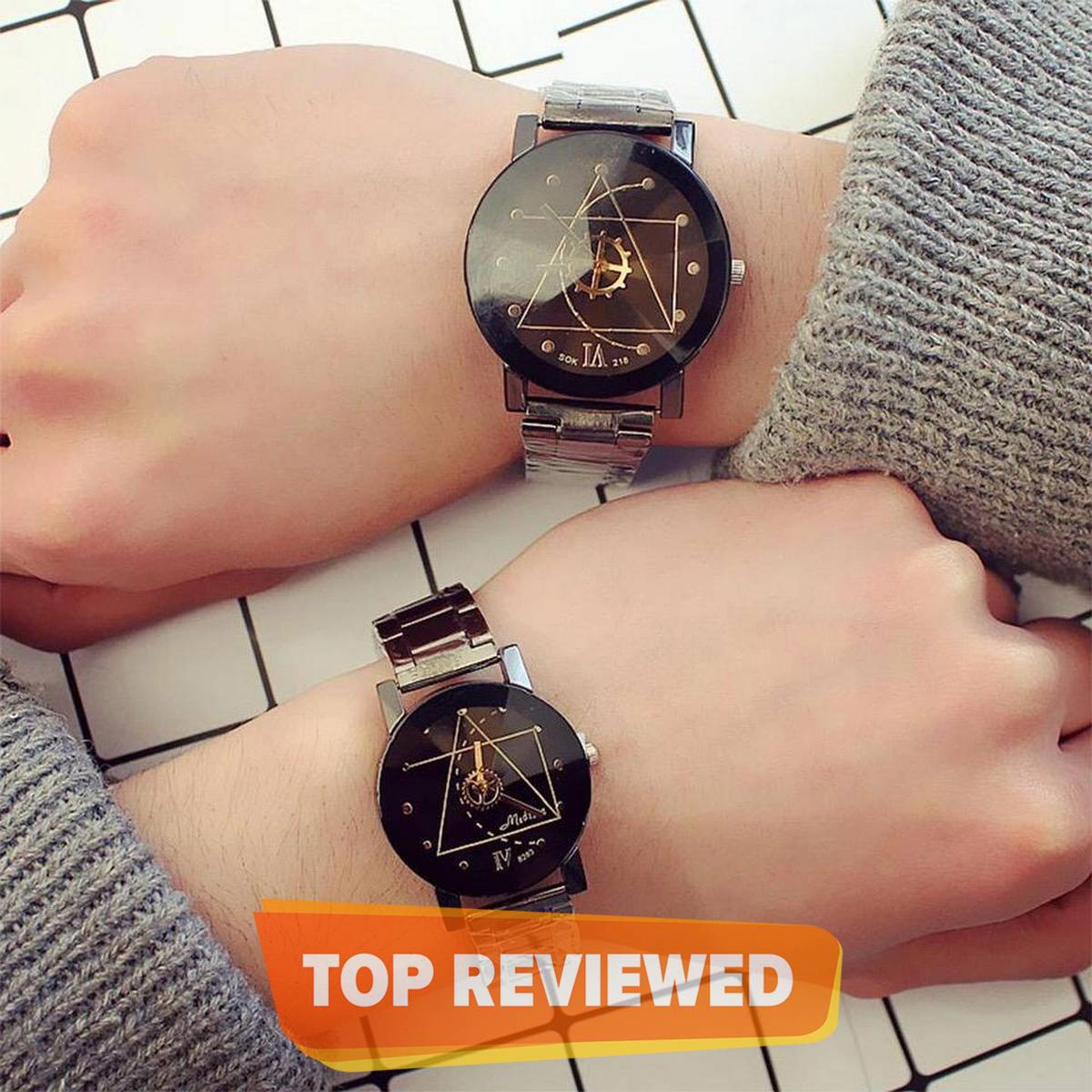 2Pcs/Set Couple Watches For Lovers