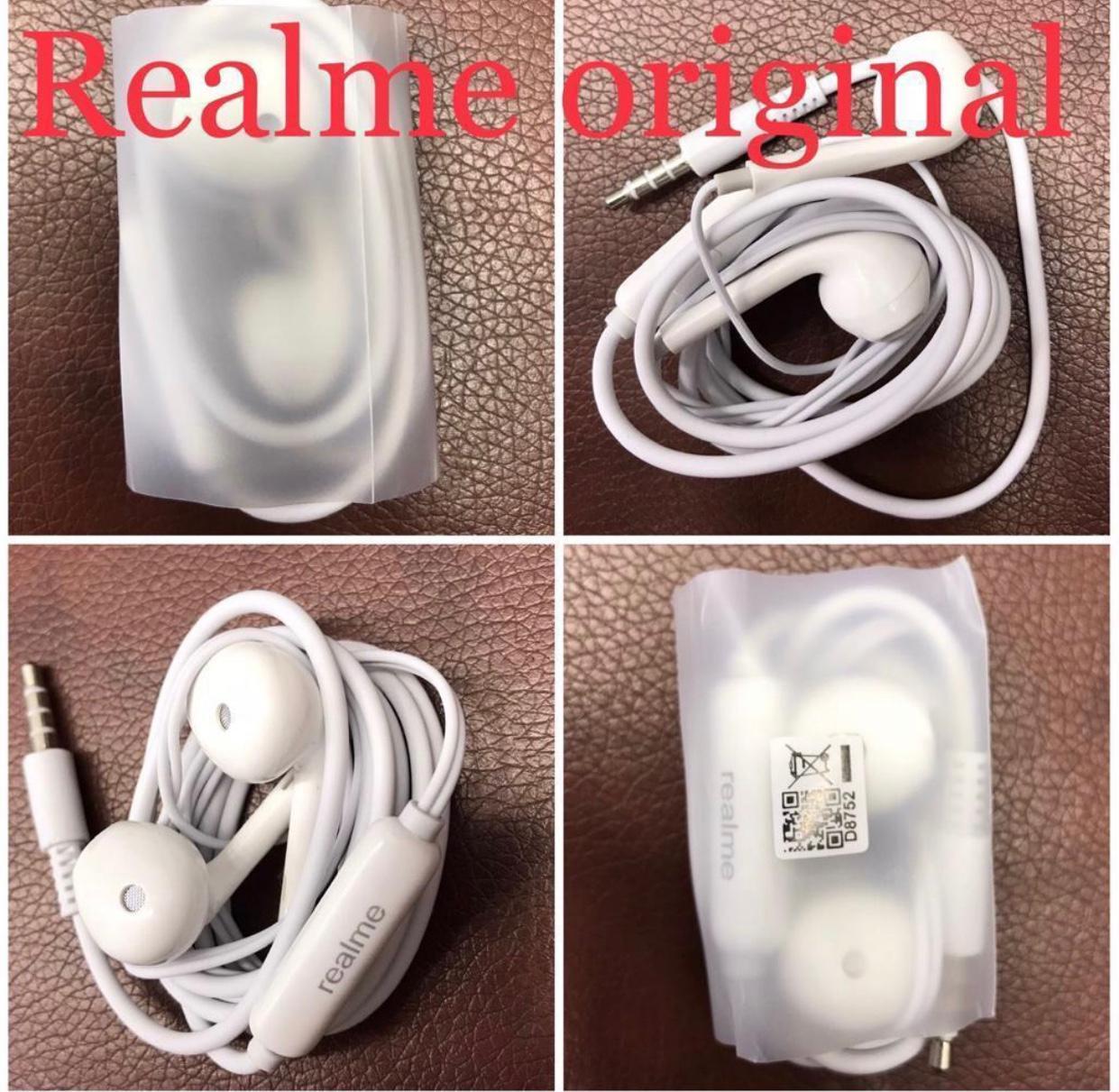 Realme_Handfree Orignal High Quality For Smart Phone All Mobile Earphone Hight Quality Original Headphone