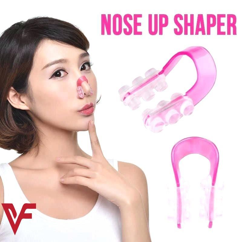 Nose Up Lifting Shaping Clip Clipper For Women Nose Shaper Clip Beauty Nose Slimming Device Pain Free High Up Tool Beauty Tool Pink