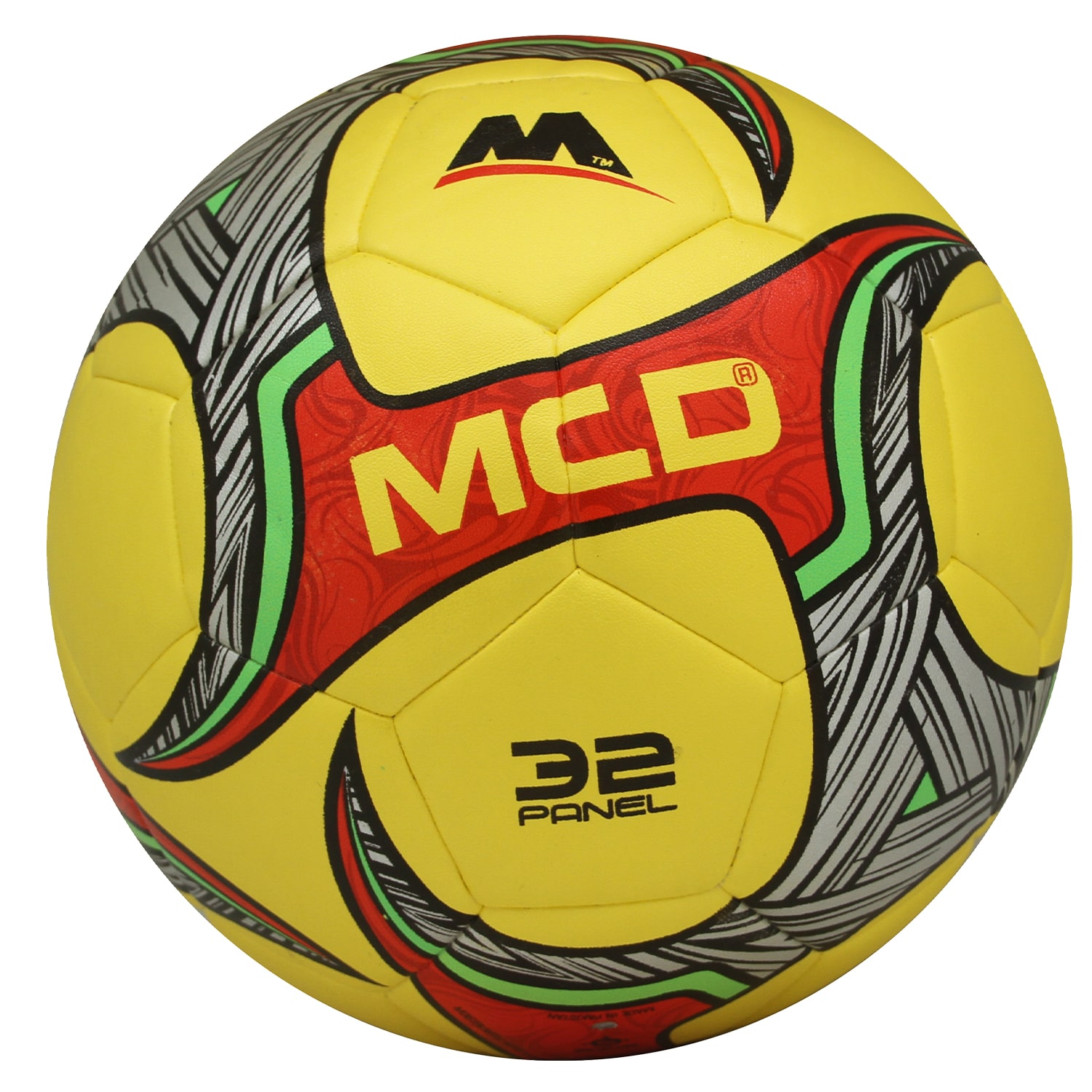 MCD Soccer, Football, Official Match Ball, Match Professional Ball, Hybrid Soccer ball, Official Size 5 & Weight, Adults Soccer Professional Club Team Indoor Outdoor Play Water Proof RINGO Hybrid Football