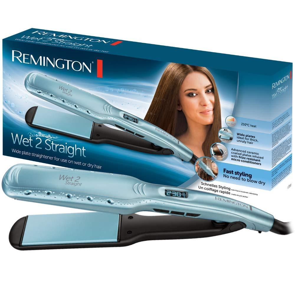 Remington hair straightener Wet2Straight Wide Plate S7350