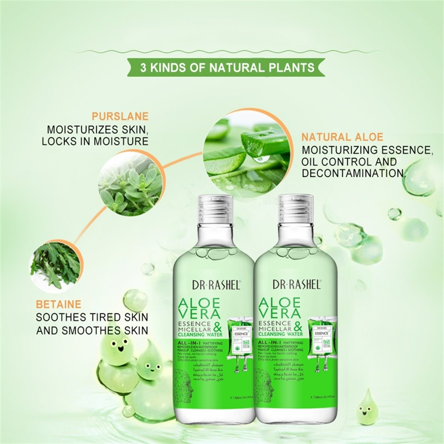 DR.RASHEL Aloe Vera Soothing Cleansing Water DRL-1503: Buy Online at Best  Prices in Pakistan | Daraz.pk