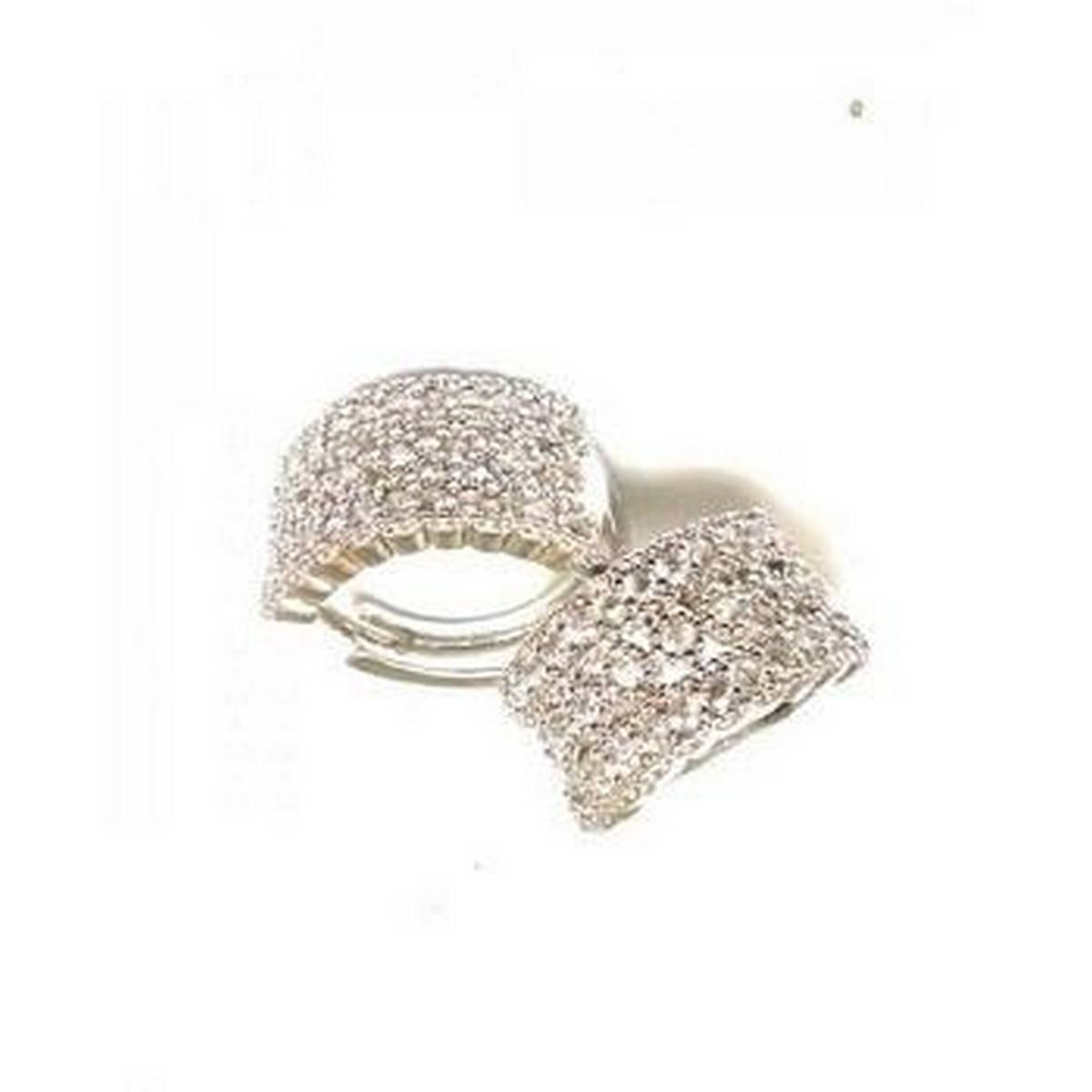 Silver Zircon Earrings for girls