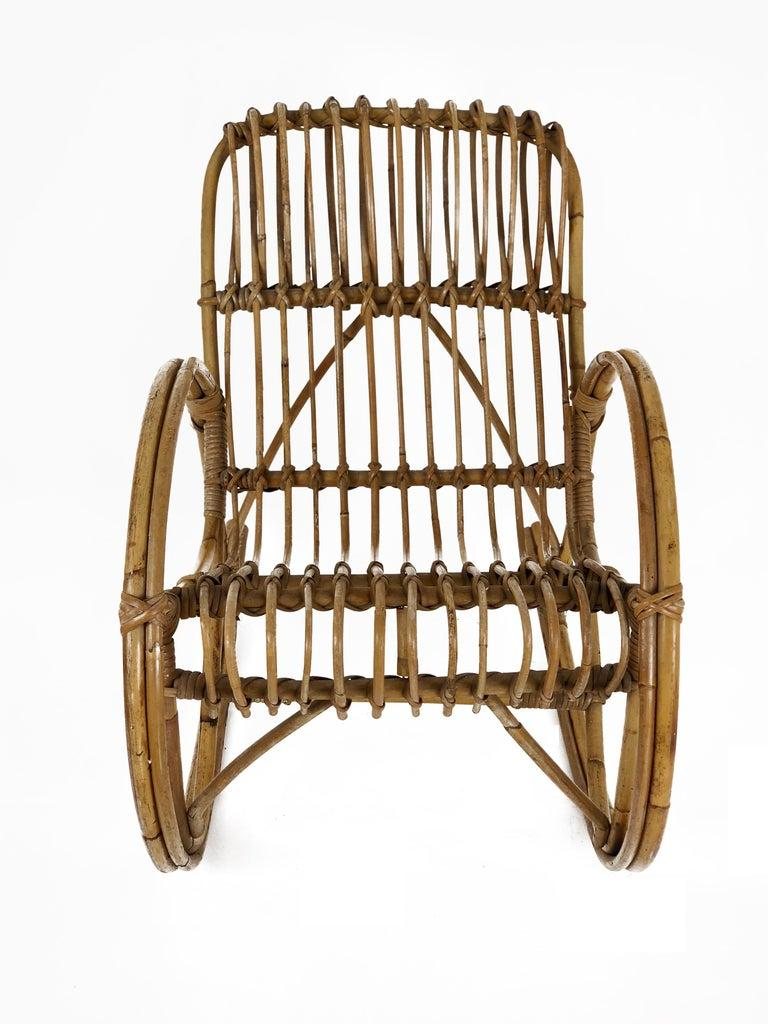 Rocking Chair for Kids - Rattan Chair