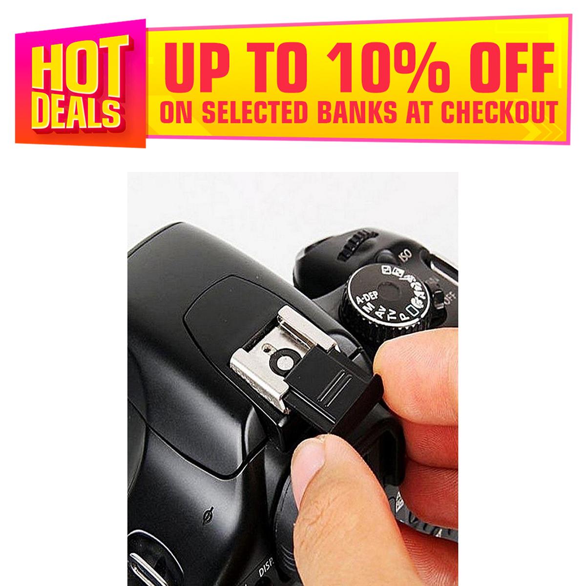 Dynamic SLR Digital Camera Hot Shoe Protective Cover For Canon / Nikon / Pentax / Olympus P16 0.3