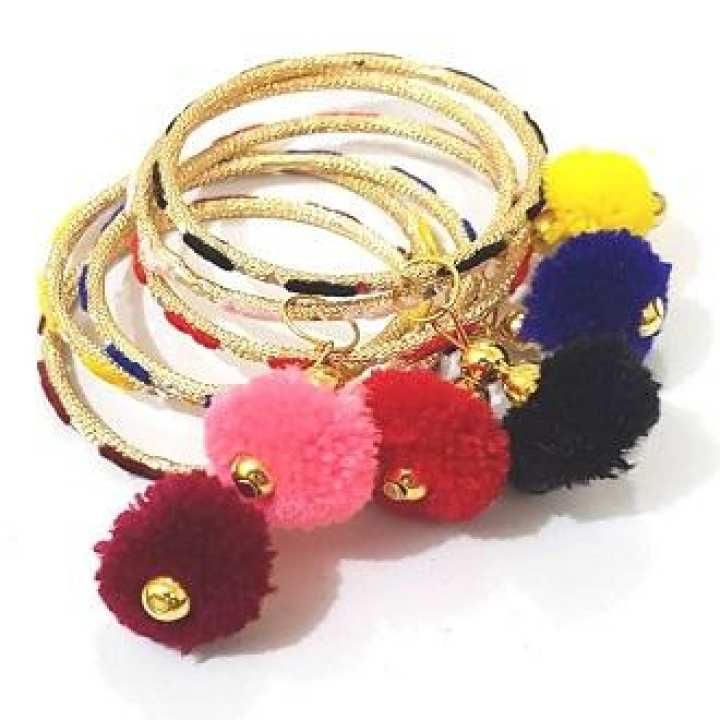 Bangles Multicolor for EID   Size 2.25 Inch Pack of 12 Bangles