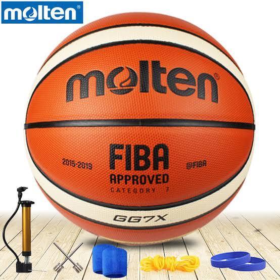 Molten Basket Ball Sports Size 7  with air pump