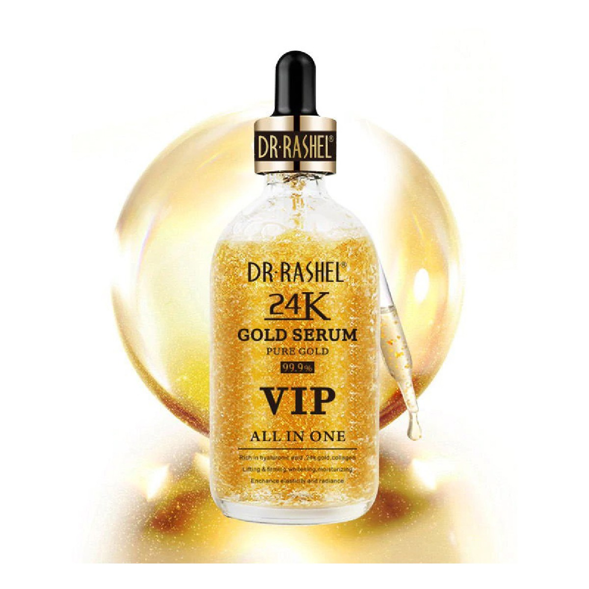 DR.RASHEL Face Care Anti Aging 24K Gold Serum VIP ALL IN ONE DRL-1427
