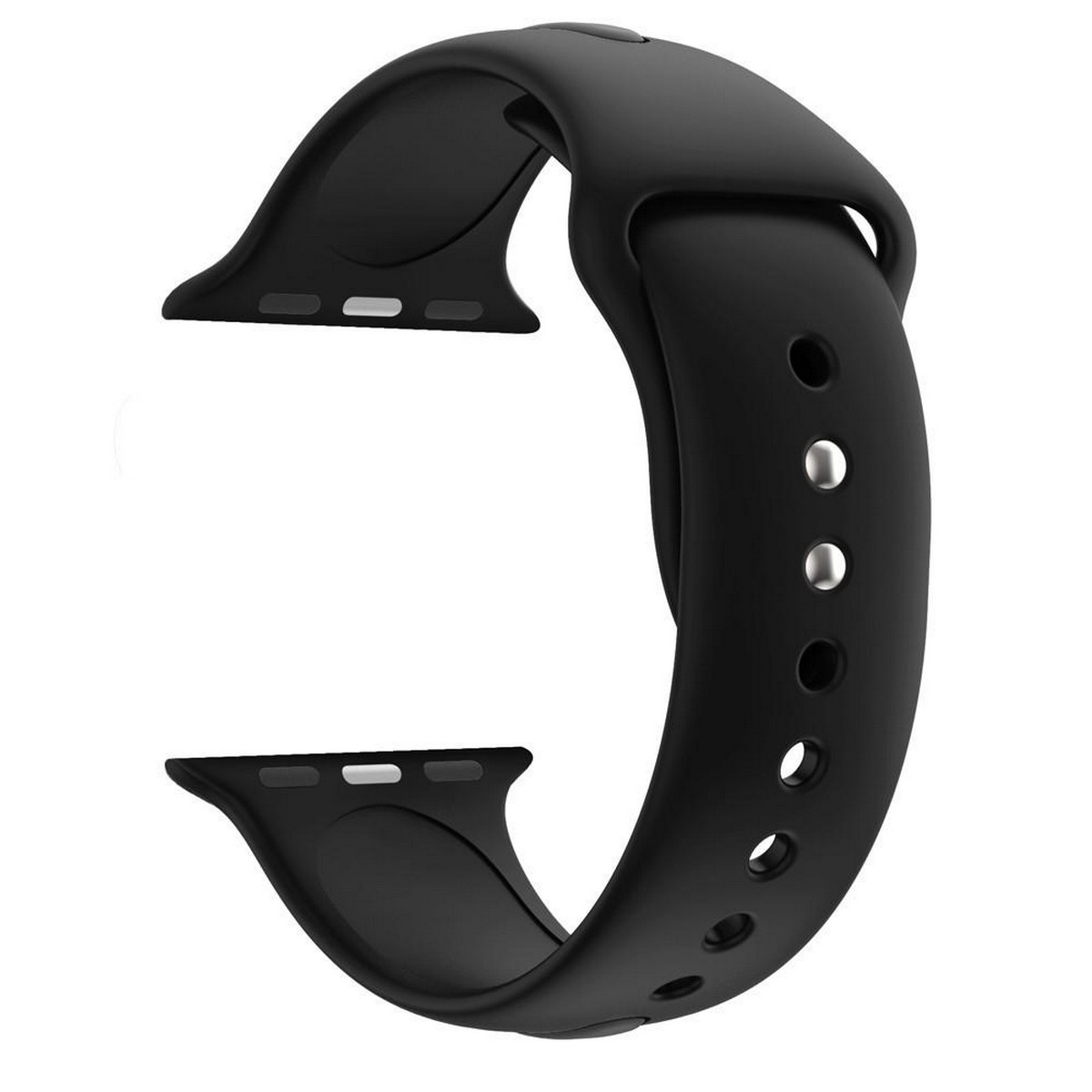 New High Quality Soft Silicone Band Watch Strap for 44mm 42mm Replacement Wrist Sport Bands Wrist Straps for 42 / 44mm Apple Watch IWatch Series 6/5/4/3/2/1 T500, T500 Pro Watches Wristband Rubber Bracelet Smartwatches Straps - Multicolor Options