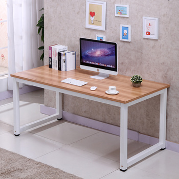 High Quality 60 inches  Computer Table - Gaming Table - Study Table - Sketching Table - Wide Surface For Mouse Keyboard - Headphones Holder - Top Wooden Metal Frame Table