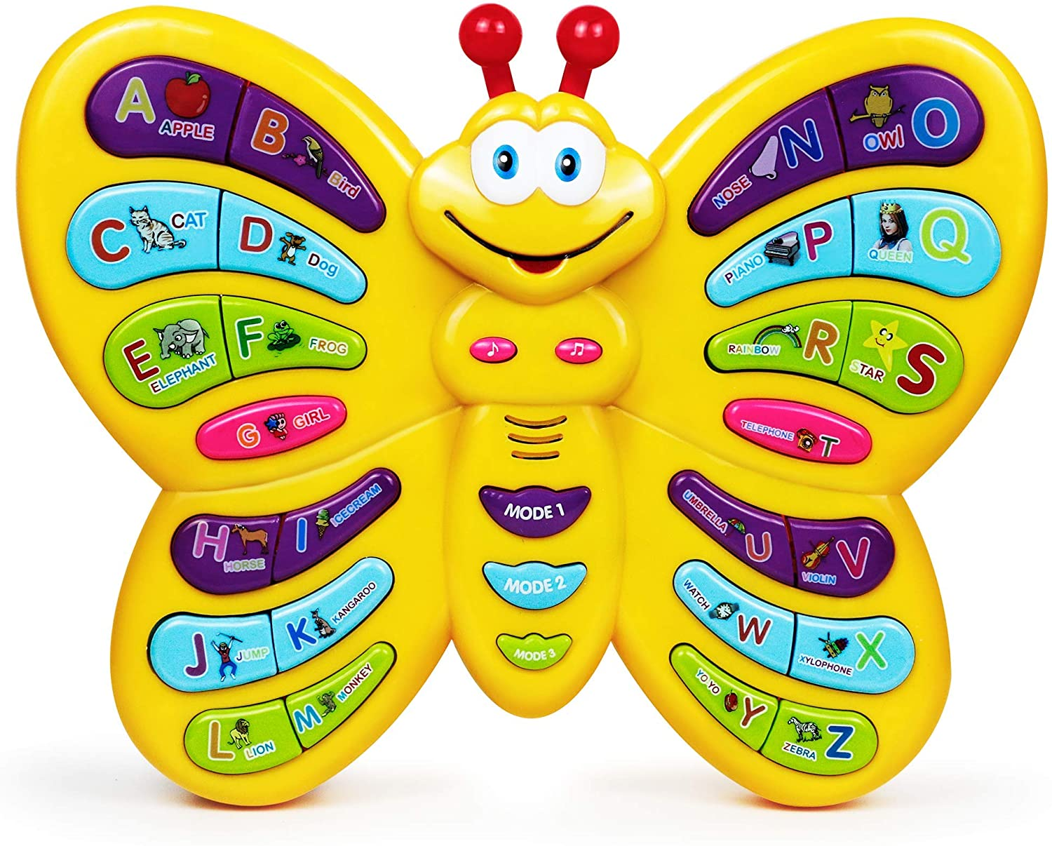 Butterflly Talking Alphabet Toy For Kids by Phoneephix