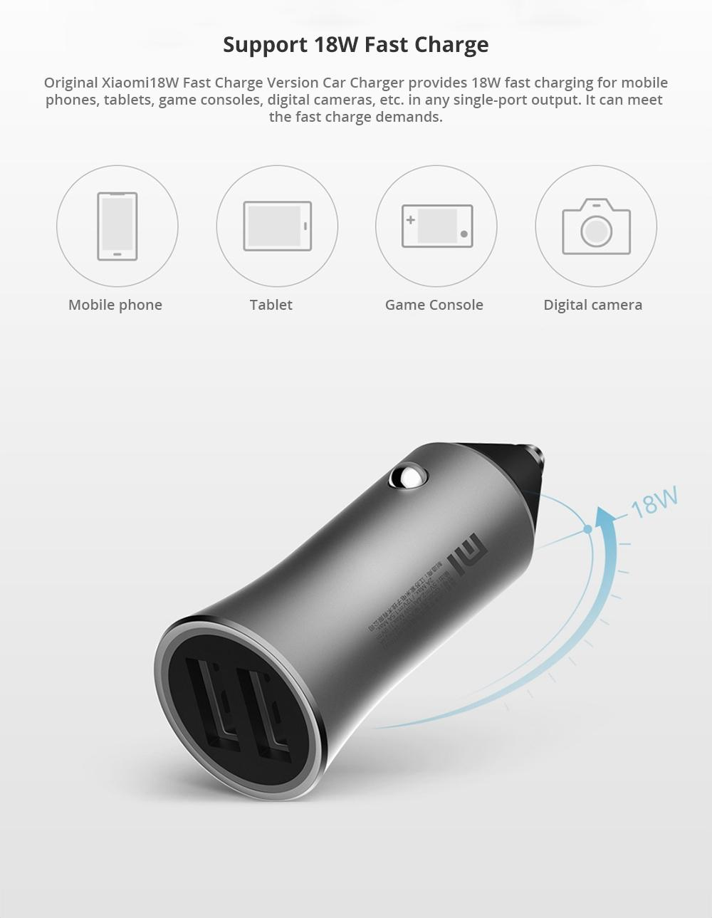 8W fast charging for mobile phones, tablets, game consoles, digital cameras