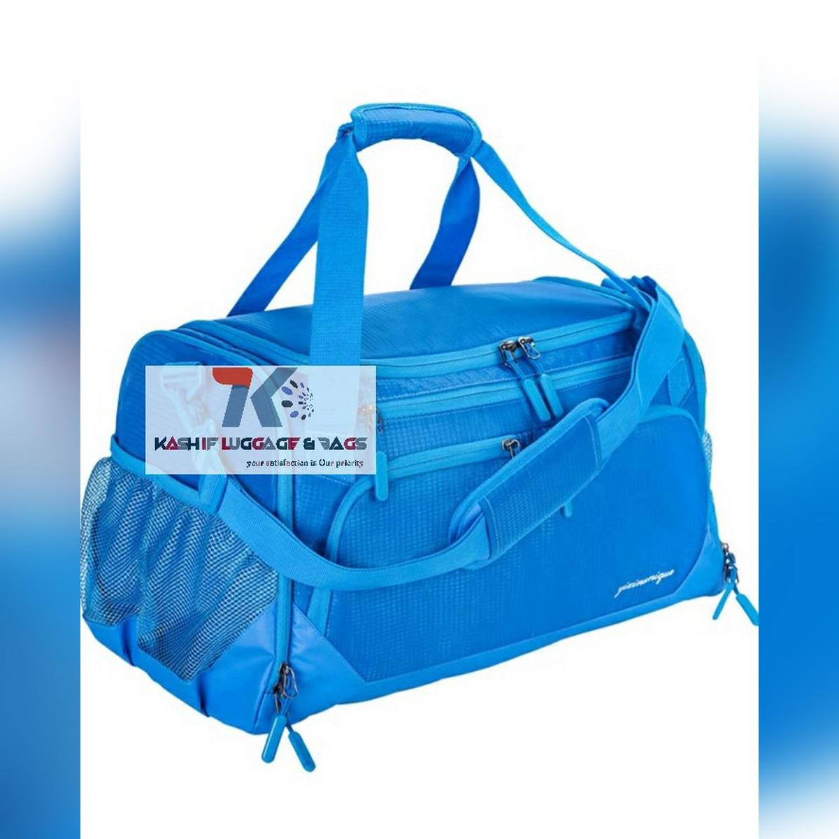 "Gym Bag, Sports Travel Duffel Bag with Shoes Compartment & Wet Pocket & Water Resistance Pouch, Men Women, 31L (20""),"