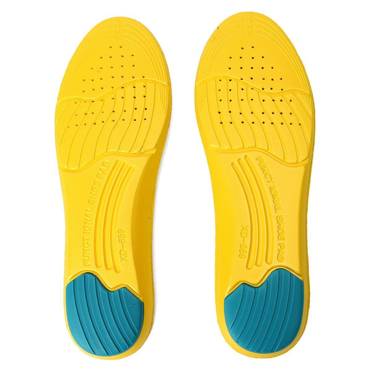 Super Memory Foam Orthotic Insoles Arch Insert Cushion Sport Support Shoe Pads O