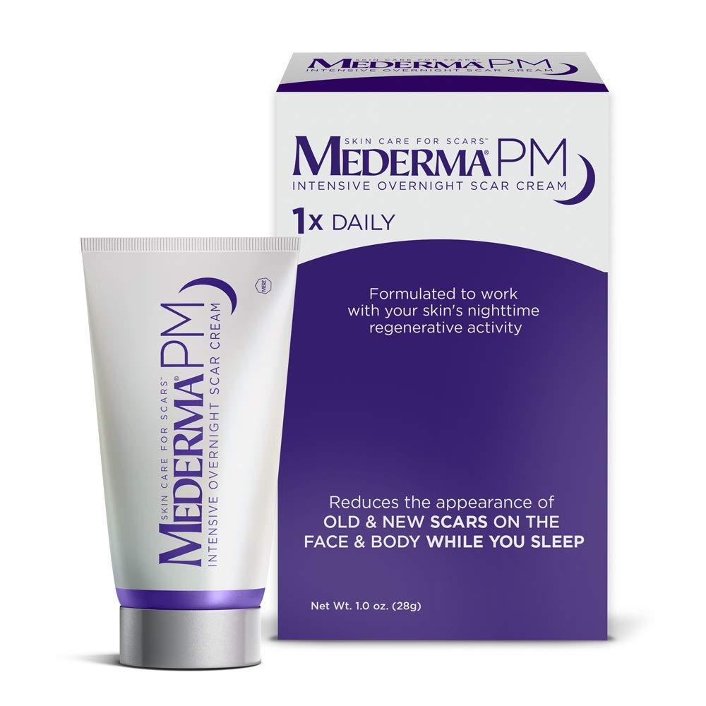 Mederma Pm Intensive Overnight Scar Cream 1 0 Oz Buy Online At