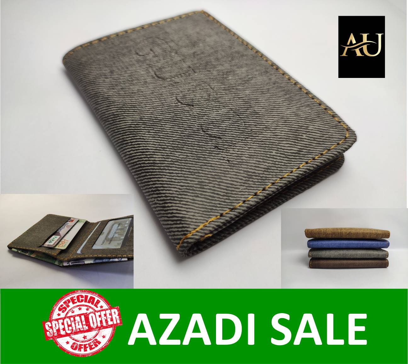 Small mini slim card holder leather walllet for men mens boys branded Patterned stylish look voilet  Brown Coffee Grey