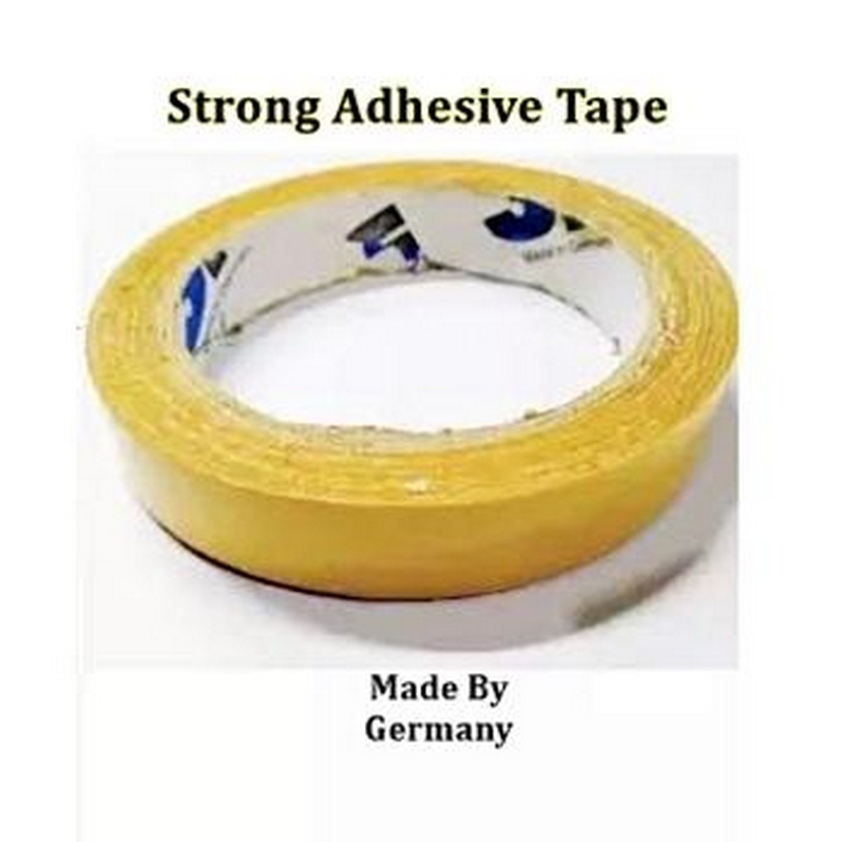 German Wig Tape Strong Hold on Dry Skin (Double-sided Adhesive) - German 22 Meter