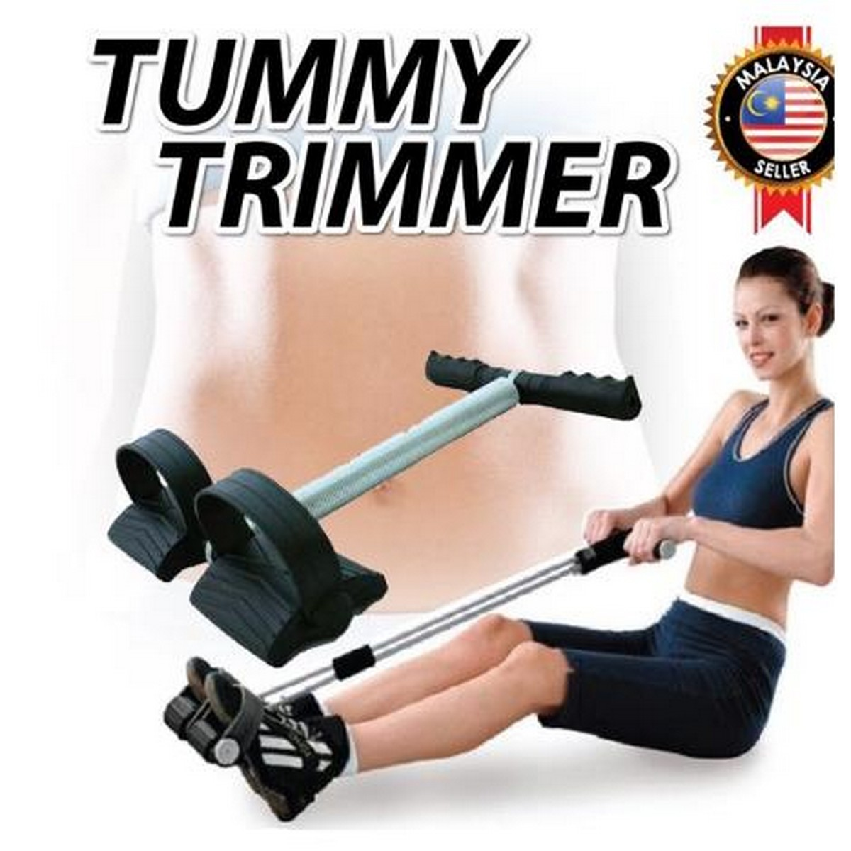 Tummy Trimmer for Home Gym | Belly Trimmer | Yoga Training Accessories | Single SPRING