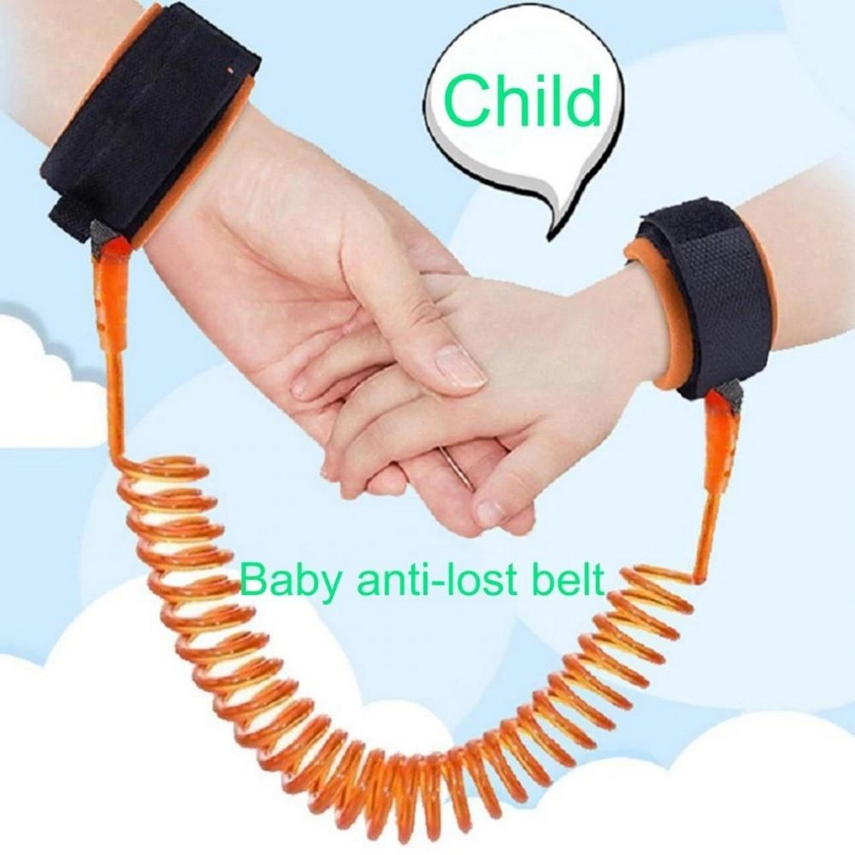 Baby Anti-lost Belt Baby Safety Walking Harness Anti Lost Strap Wrist Leash Kids Traction Rope Children Safety Accessories
