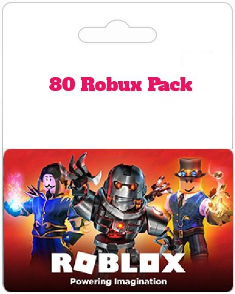 80 Robux Pack for Roblox