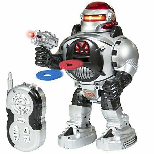 RoboShooter - Remote Control Robot - Fires Discs, Dances - RC Robot