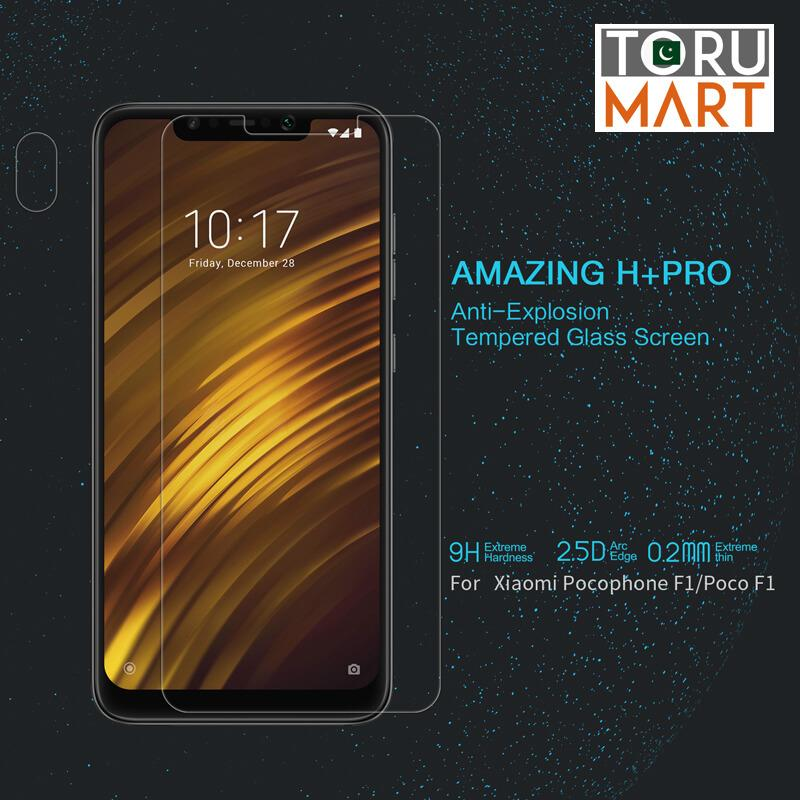 Nillkin H+ Pro Tempered Glass Protector for Xiaomi Pocophone F1