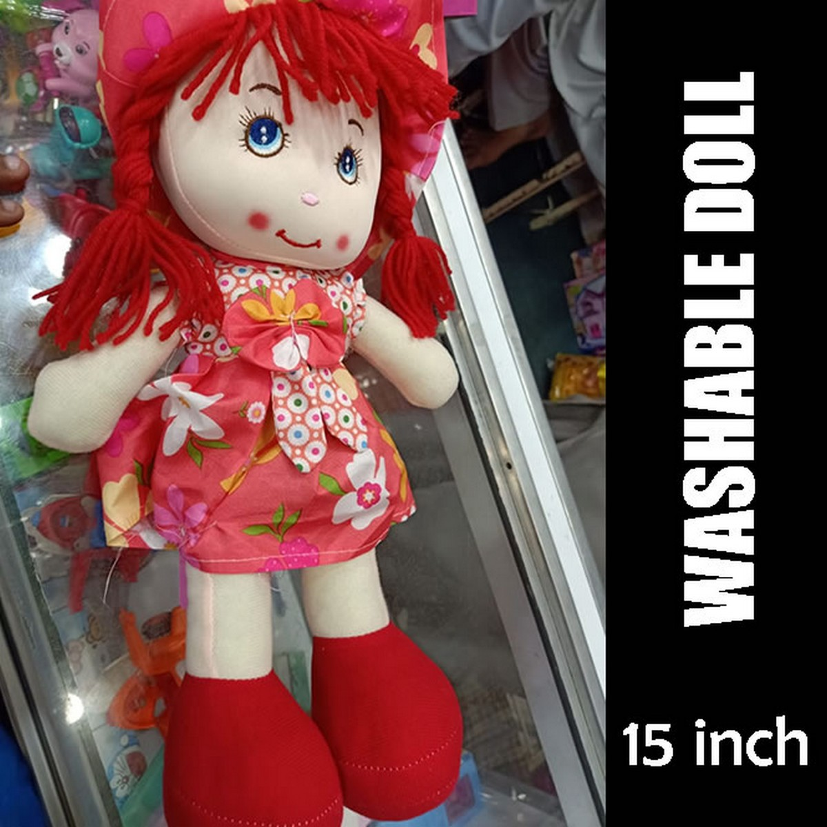 Nice Doll for Girls - Elegant Stuffed Washable Doll for Girls (15 Inches Height)