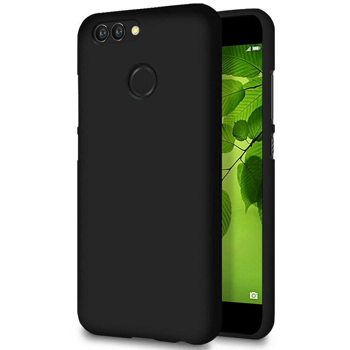 Huawei Nova 2 Airbag Case Anti Shock and Anti-Scratch Resistant Clear View Transparent Silicone Back Cover