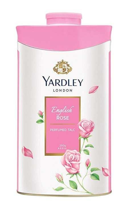 Yardley London Perfumed Talcum Powder 250G (English ROSE)