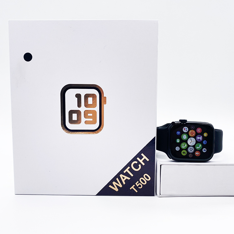 T500 Smartwatch Series 6 Hiwatch 44mm 100% genuine Bluetooth call Fitness tracker Music player Heart Rate Blood Pressure Sleep Monitoring Smart Watch