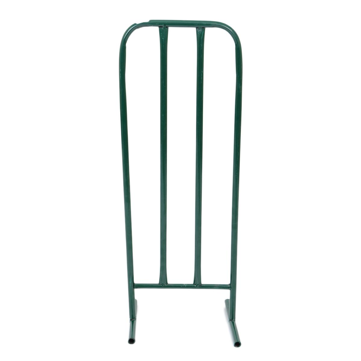 Good Quality Steel Wickets for Tape Ball Cricket (28 Inch Length) - Green