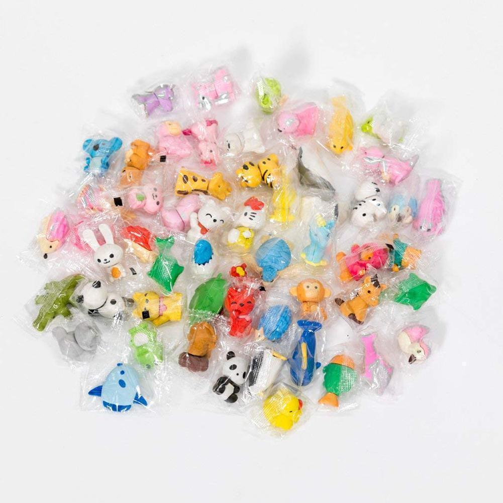 ny Toys Animal Shaped Erasers Collectible Assorted Puzzle Erasers School  Supplies Gifts