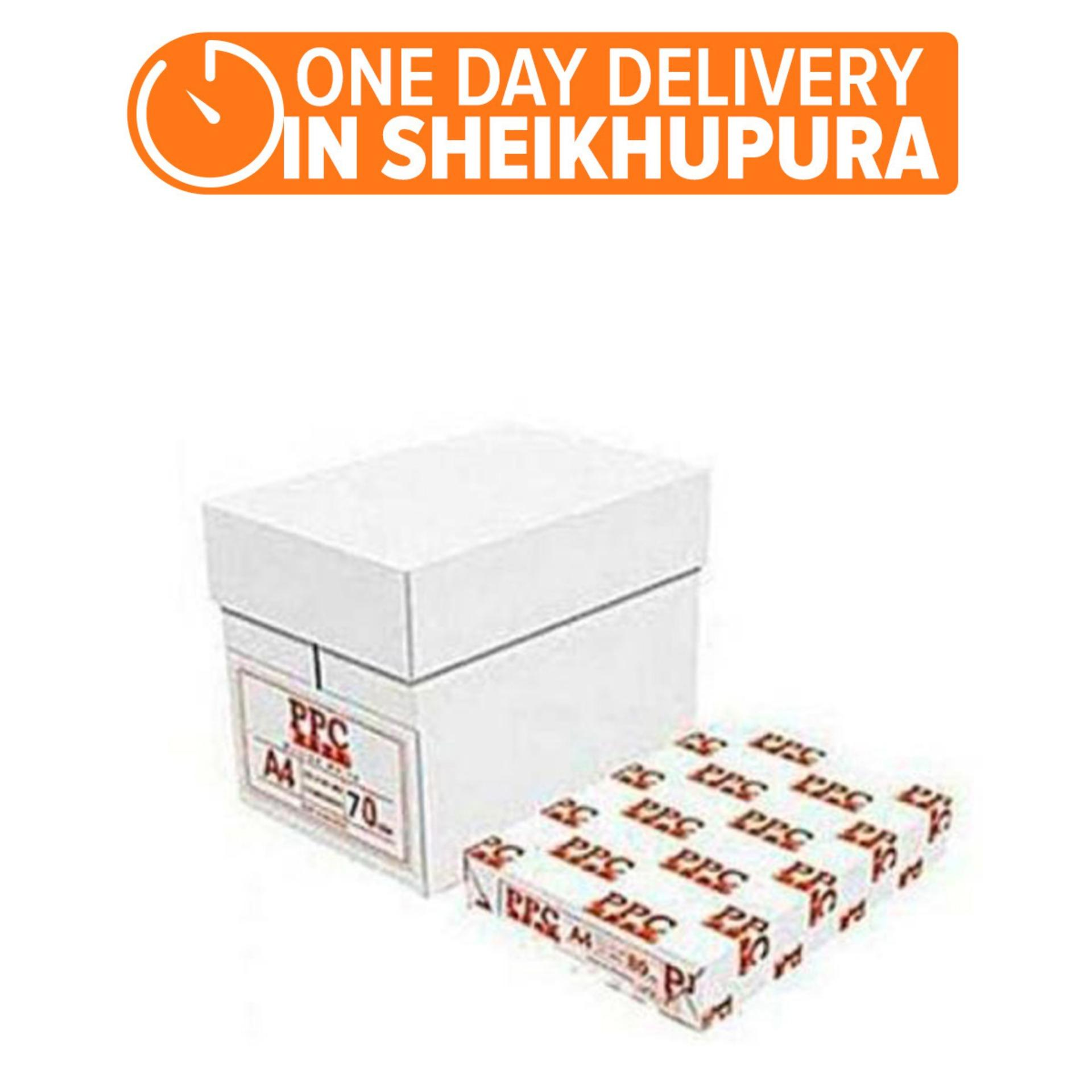 Plain Paper Copier - PPC 70GSM A4 Photocopy Paper - Box of 5 Reams (One Day  Delivery in Sheikhupura)