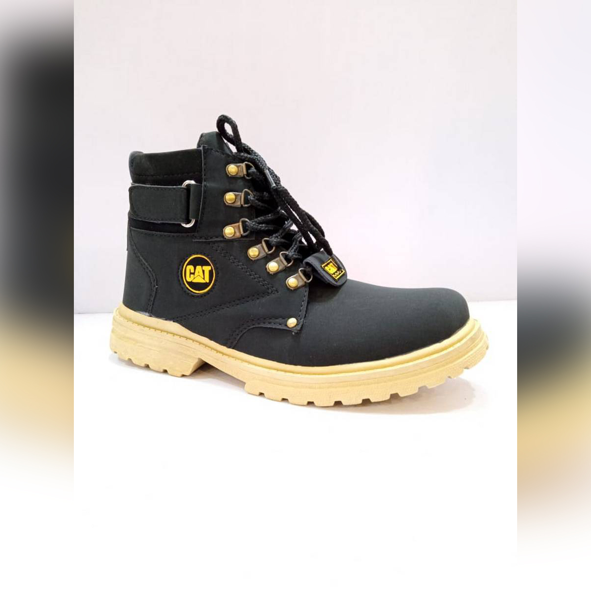 Black Daily Use Long Shoes for Men