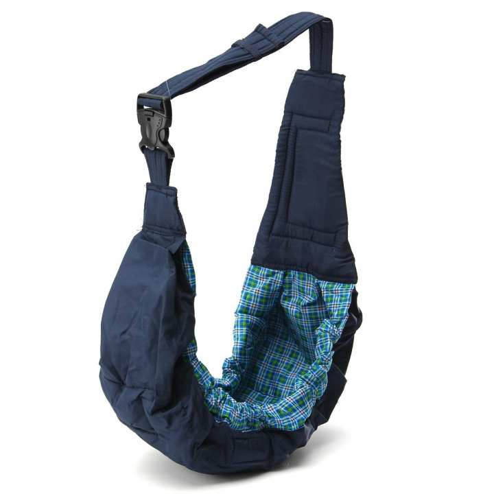 Newborn Infant Baby Adjustable Carrier Sling Wrap Rider Backpack Pouch Ring New Blue
