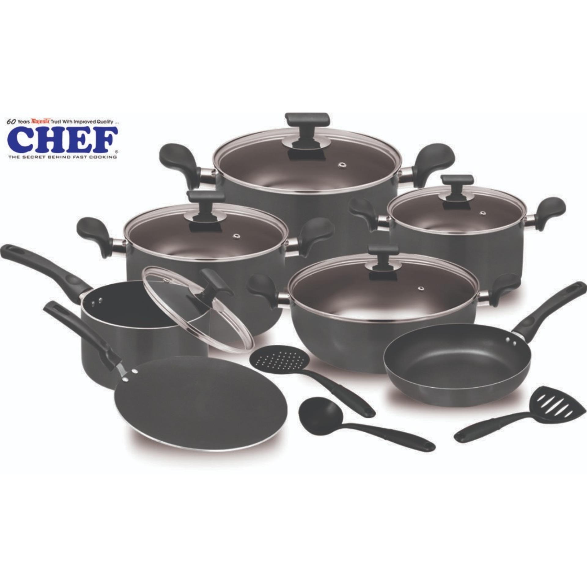 15pcs Cooking Set Nonstick Cookware