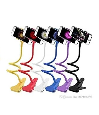 Universal Detachable Long Arm Lazy Bedside Flexible Mobile Phone Holder Bed Bracket Snake Stand Holder With Firm Mobile Grip