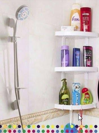 Plastic Small Beautiful Corner Cabinet Shelf Bathroom Corner Storage Buy Online At Best Prices In Pakistan Daraz Pk