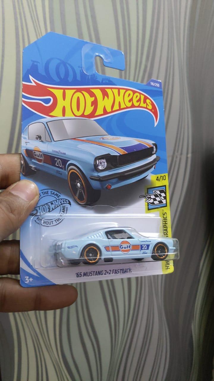 Hot Wheels - '65 Mustang 2+2 fastback- Diecast