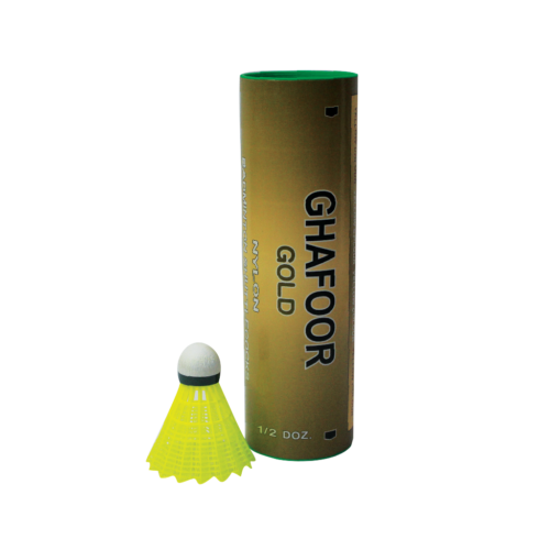 Pack of 6 - 2021 Plastic Shuttle Cocks for Badminton - High Quality