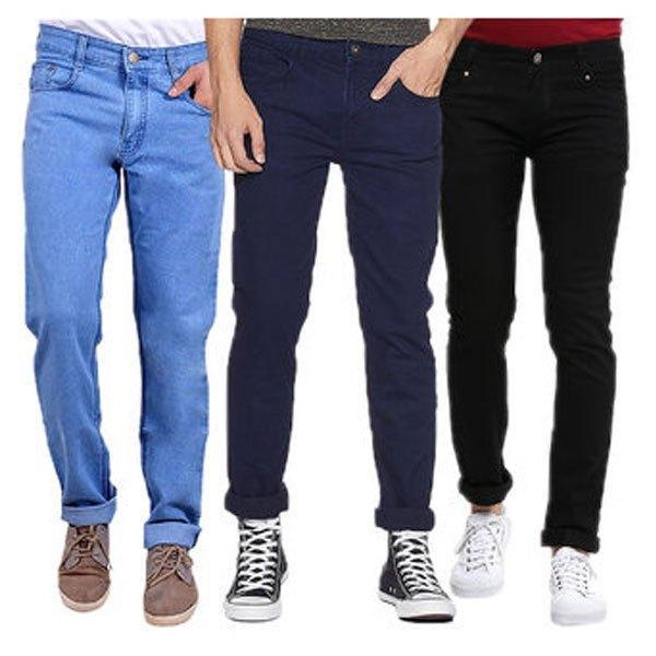 5d2aea5684005 Buy Men Stylish Fit Jeans   Best Price in Pakistan - Daraz.pk