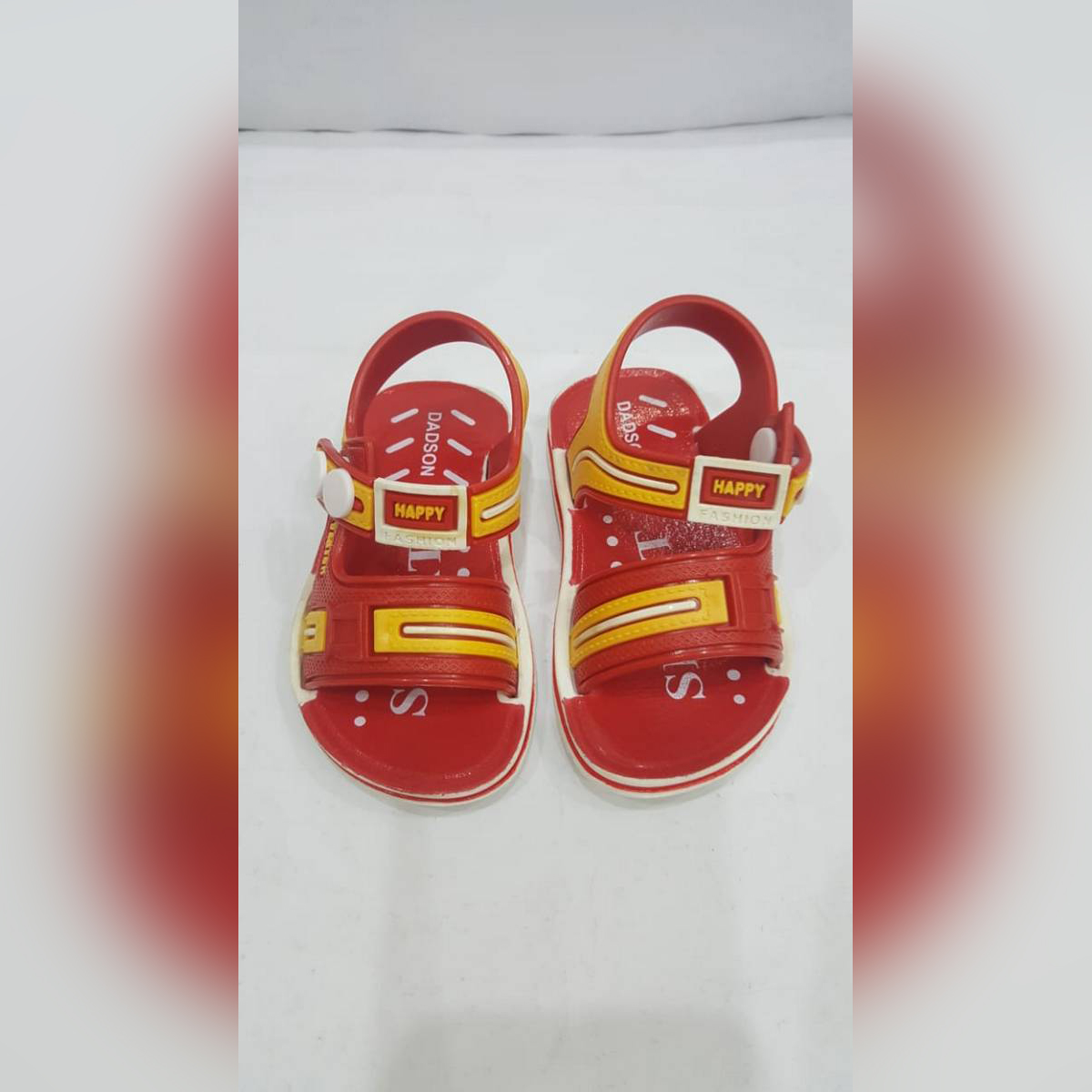 DADSON CASUAL RED SANDAL FOR KIDS LATEST ARRIVAL WITH FABOLUS STUFF