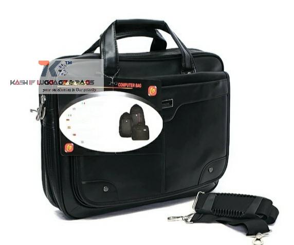 AOTELONG Faux Leather Office Briefcase Men laptop Handbag Cross Body Bag